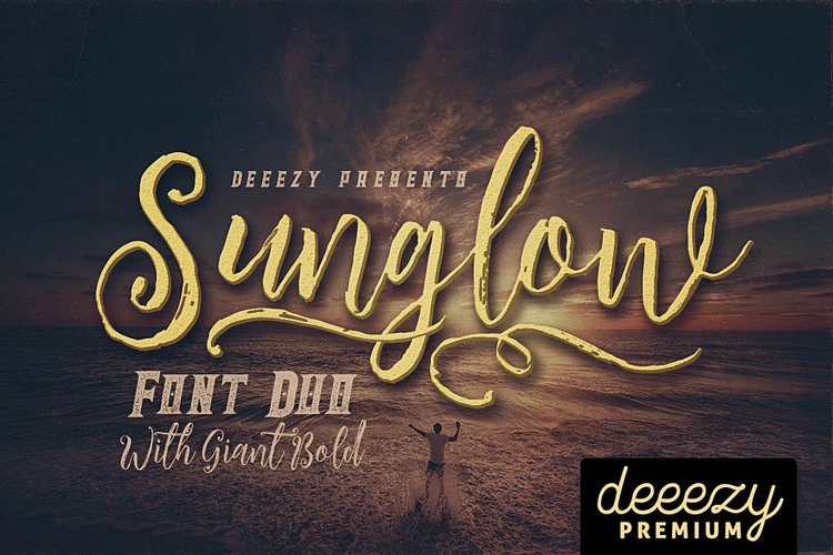 Sunglow Font Duo example image 1