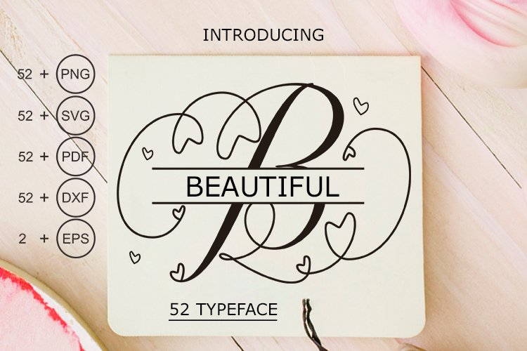 Beautiful Monogram Calligraphy