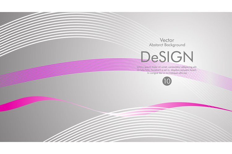 5 file , vector background, color flow waved lines example image 1