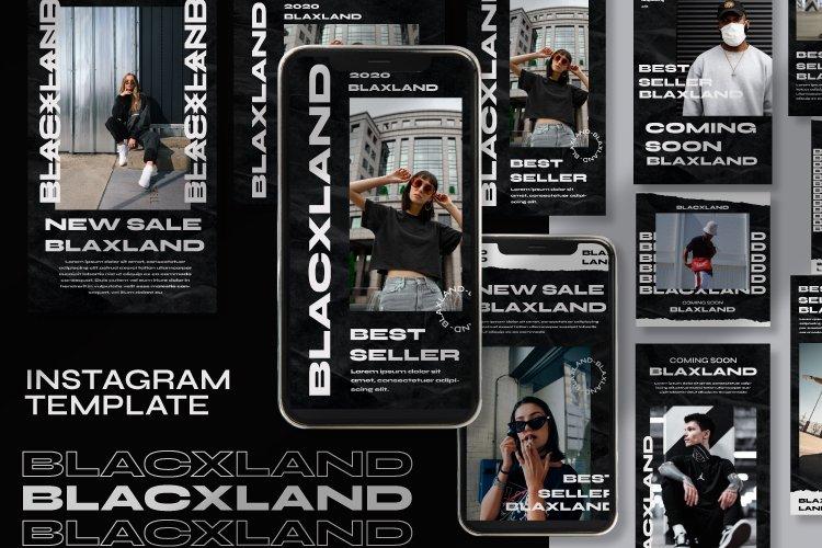 Blaxland Instagram Template example image 1