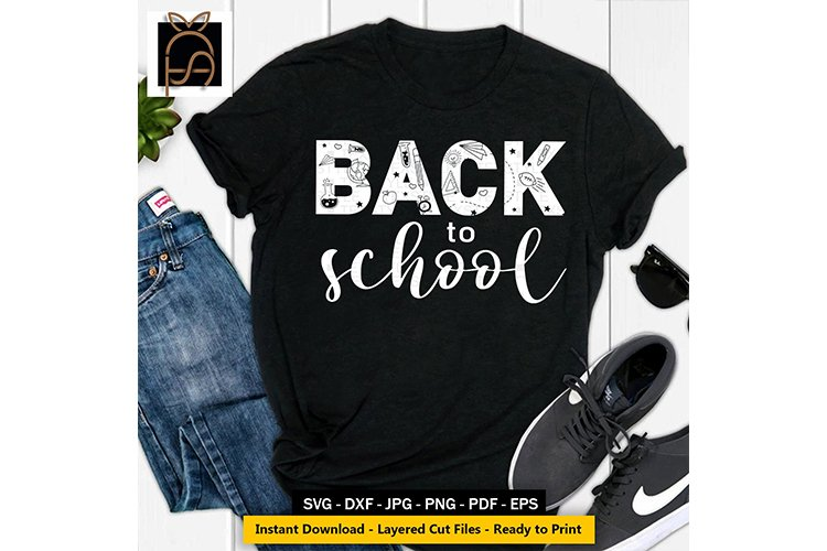 Back to School - School Time - Education SVG DXF EPS PN
