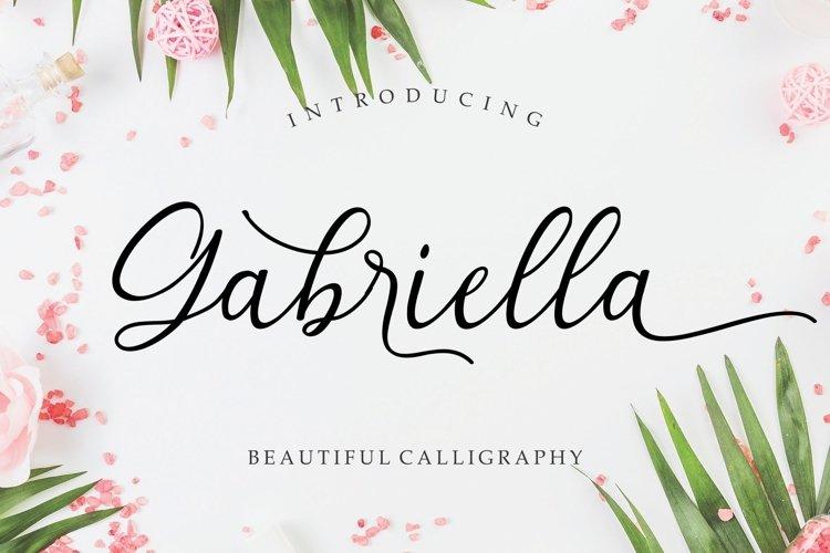 Gabriella Modern Calligraphy example image 1
