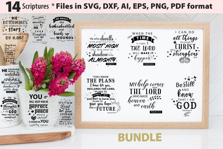 Christian Bible Quotes Bundle 1 SVG AI EPS PNG