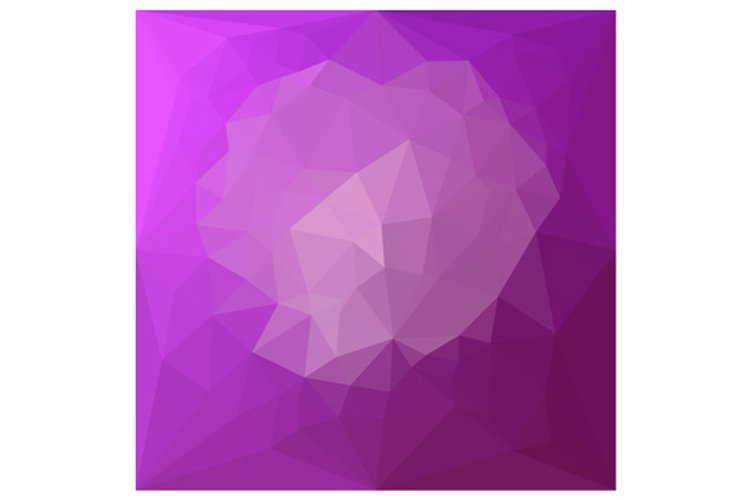 Eminence Violet Abstract Low Polygon Background example image 1
