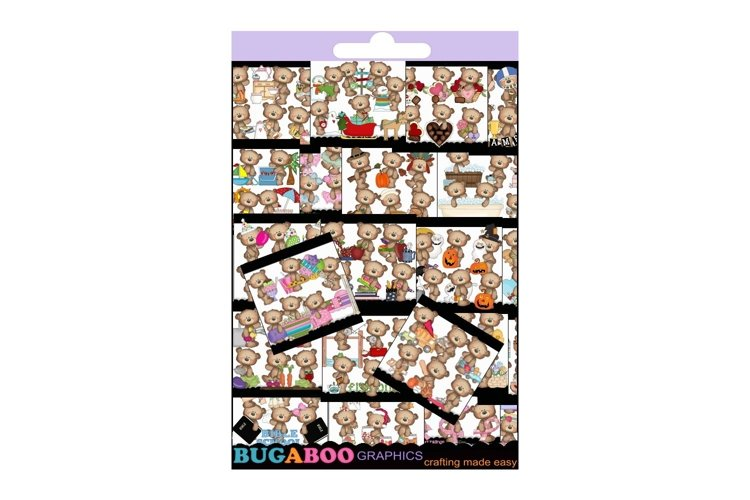 Halloween Clipart, Christmas, Fall, Summer Clipart Bundle example image 1
