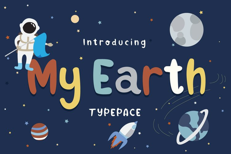 My Earth Typeface example image 1