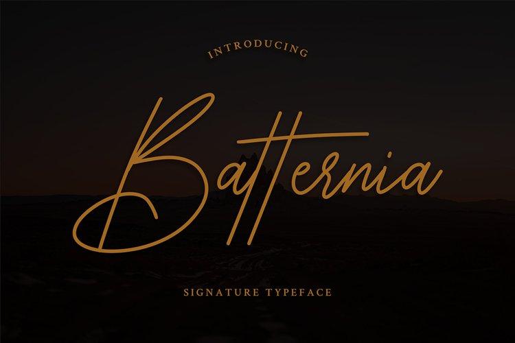 Batternia Handwritten Typeface example image 1