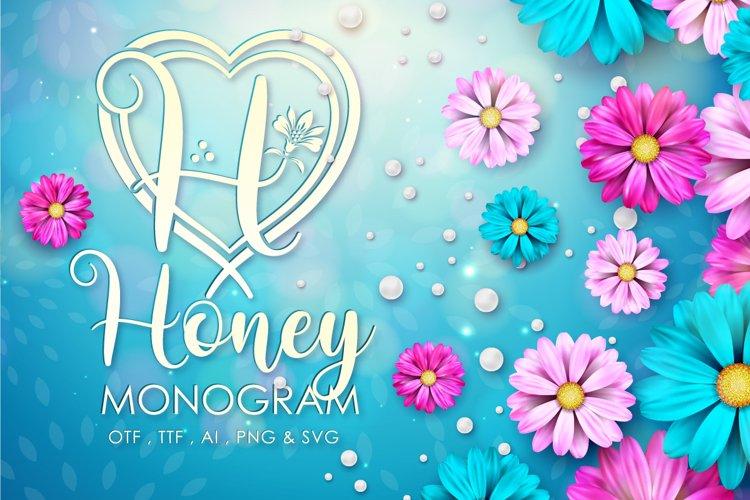 Honey Monogram example image 1