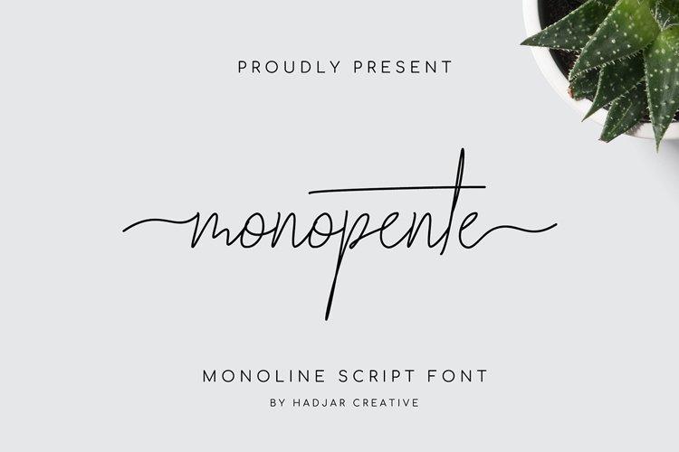 monopente example image 1
