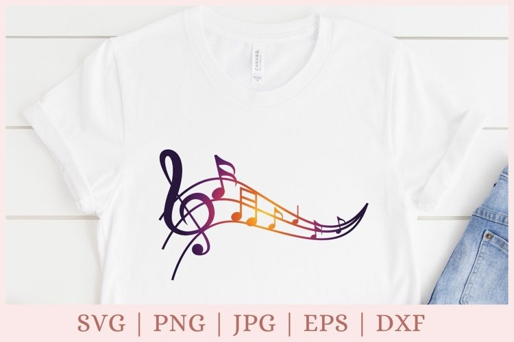 Music notes SVG, treble clef SVG, music SVG
