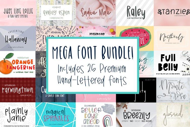 Affinity Grove Mega Font Bundle with 25 Premium Fonts!