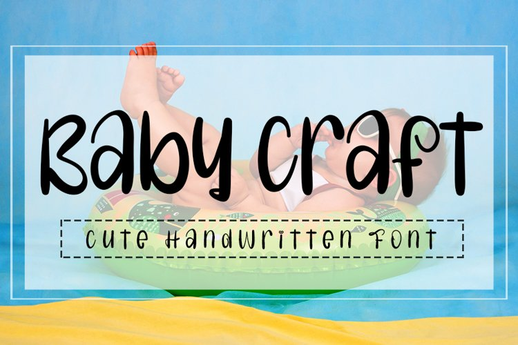 Baby Craft - Cute Handwritten Font example image 1