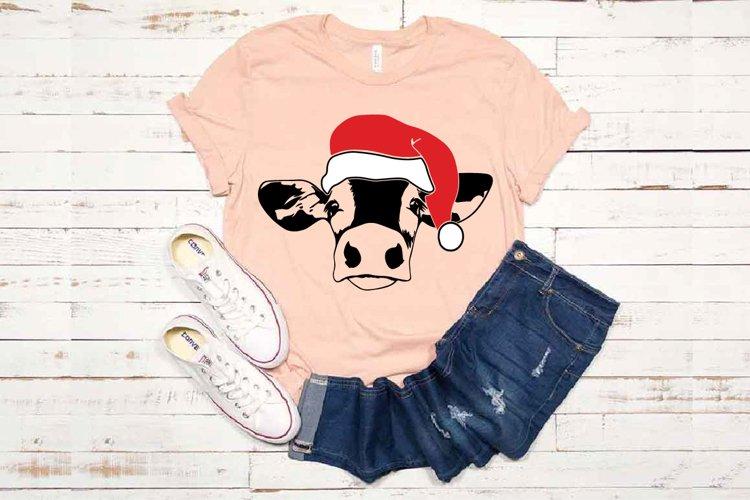 Cow Christmas Hat cowboy Farm heifer hat 1606S