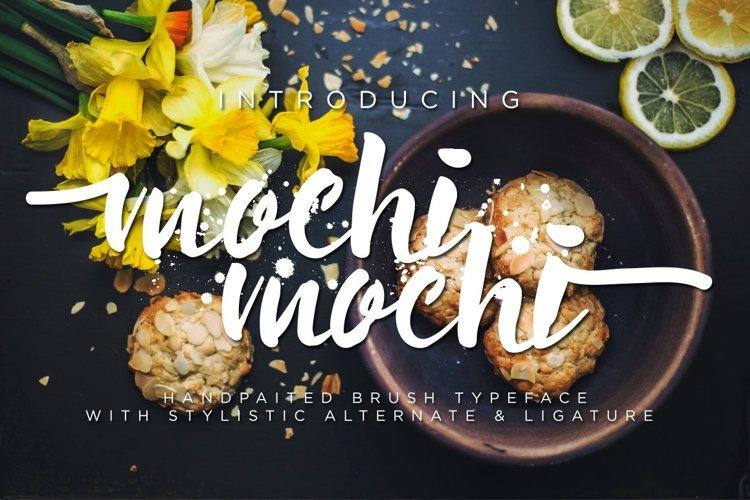 Web Font Mochimochi Typeface example image 1