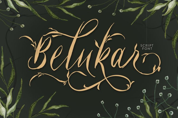Belukar - Unique Display Script example image 1