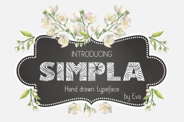 Simpla Font example image 1