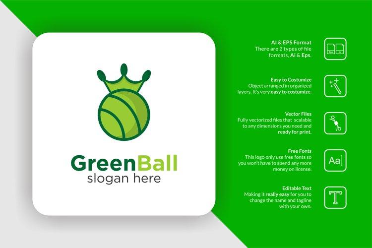 Green Ball Logo example image 1