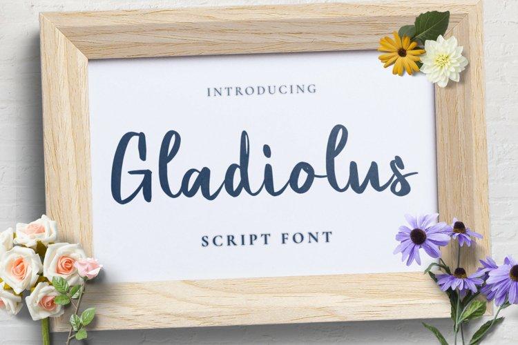 Gladiolus Font example image 1