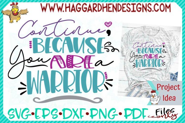 Continue Warrior SVG example image 1