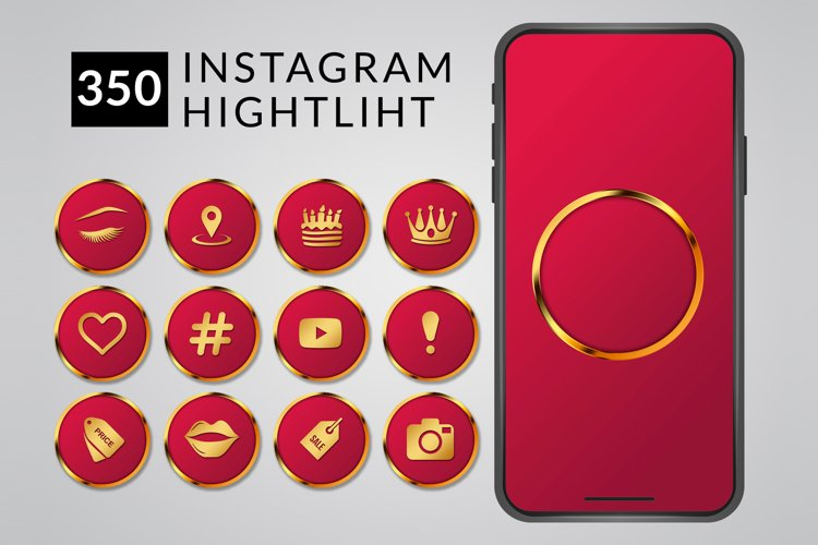 Highlight Instagram | Icons Story | Instagram icons example image 1