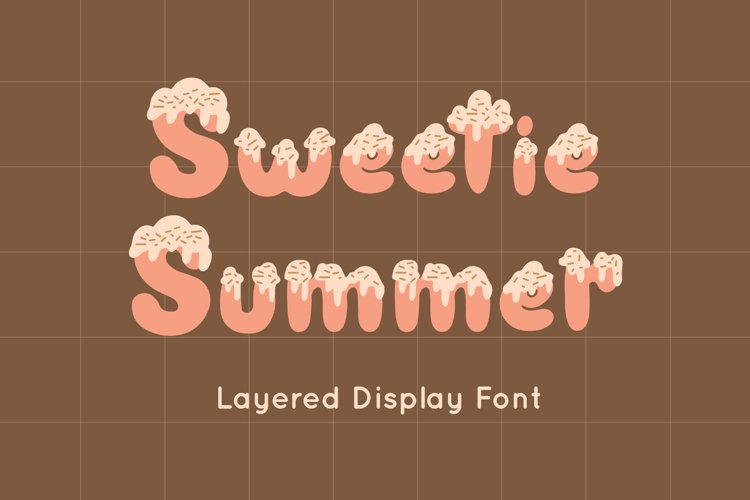 Sweetie Summer - Display Font example image 1
