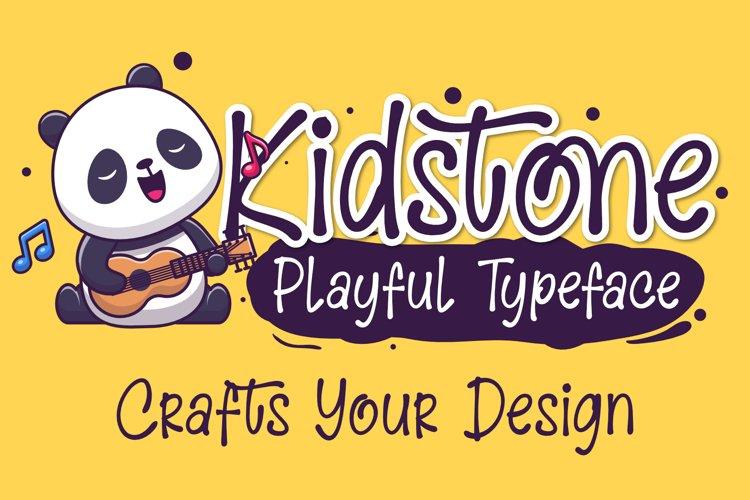 Kidstone - Cute Typeface example image 1