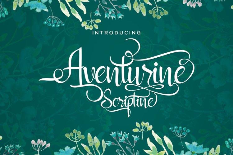 Aventurine Scriptine example