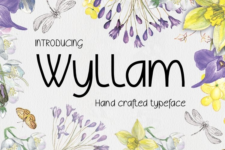 Wyllam Font example image 1