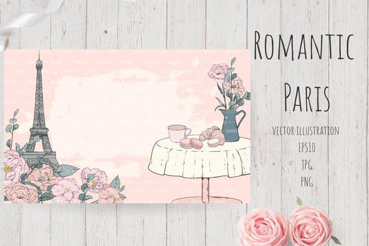 Romantic Paris Card#10 example image 1