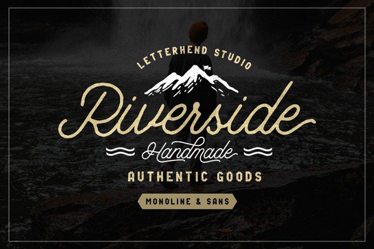 Riverside Font Duo example image 1