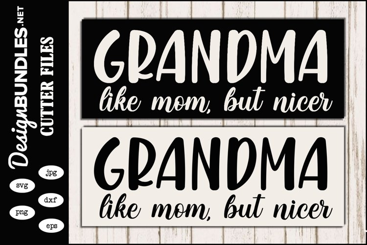 Grandma SVG