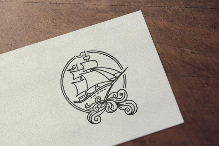 pirate sailing ship example image 1