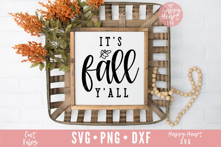 It's Fall Y'All SVG example image 1