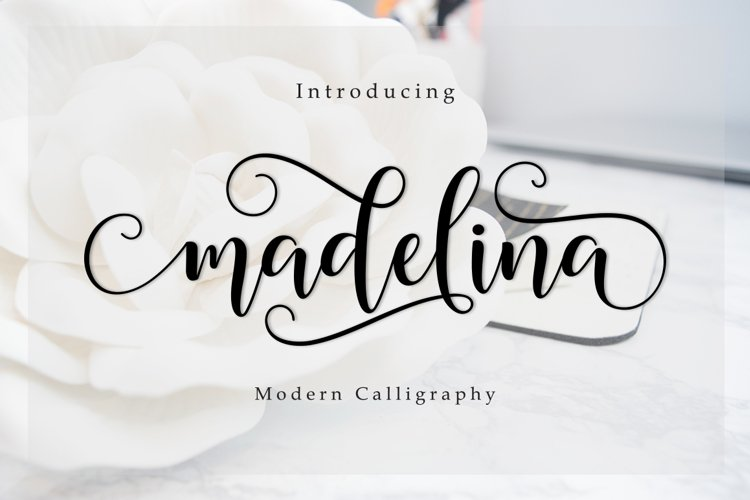 Madelina Script example image 1
