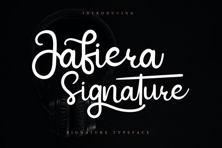 Jafiera Signature example image 1