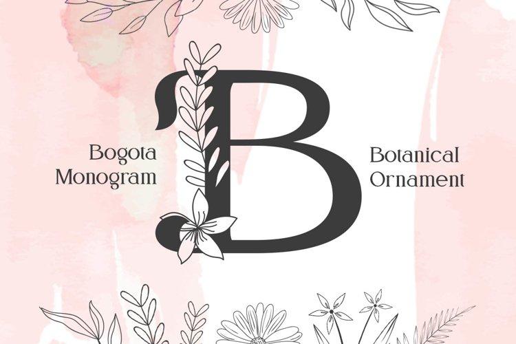 Bogota Monogram example image 1