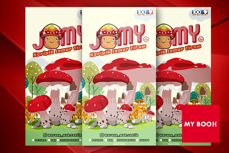 packaging design jammy example image 1