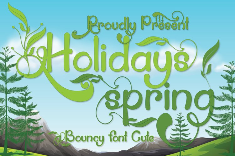 Holidays Spring example image 1