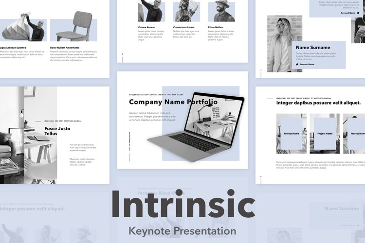 Intrinsic Keynote Template example image 1