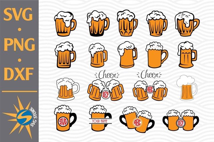 Beer Mug SVG, PNG, DXF Digital Files Include
