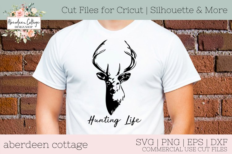 Hunting Life SVG - Hunting Tshirt & Sign example image 1