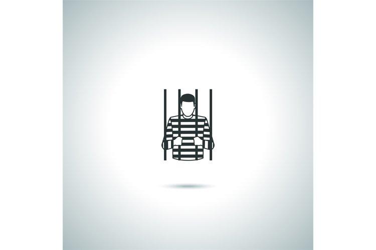 Criminal prisoner icon example image 1