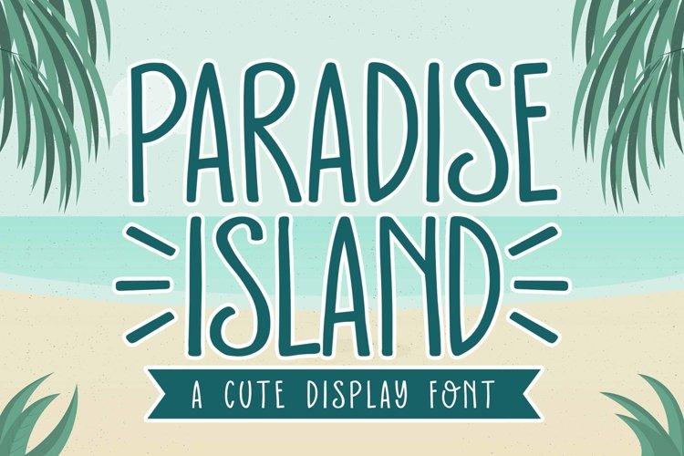 Paradise Island example image 1