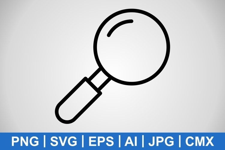 Vector Search Icon example image 1