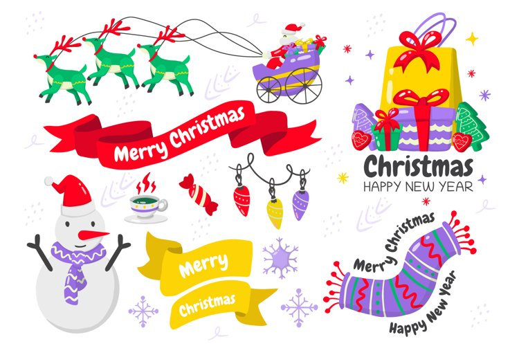 Christmas Elements Vol.7 example image 1