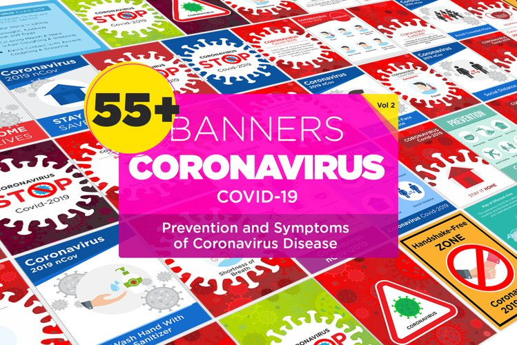 55 Prevention and Symptoms of Coronavirus Disease Design