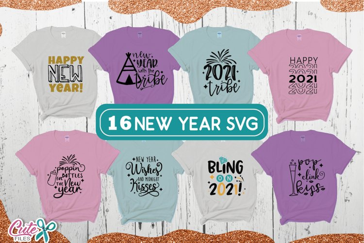2021 New year bundle SVG for crafter