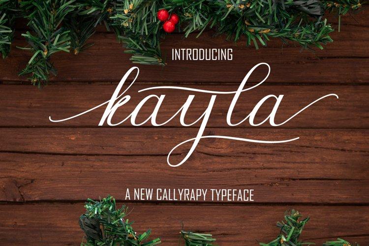 Kayla Font duo example image 1