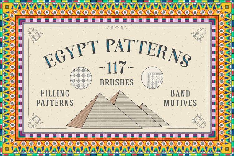 117 Egypt Patterns Brushes & Swatches example image 1