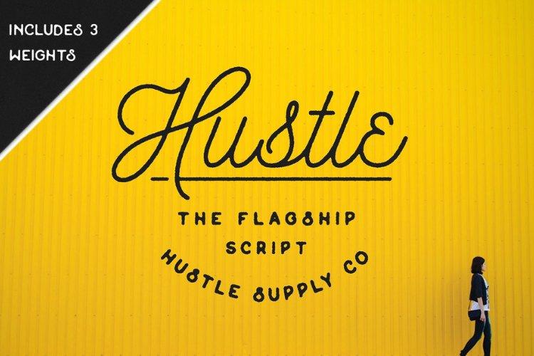 Hustle Script - Monoline example image 1